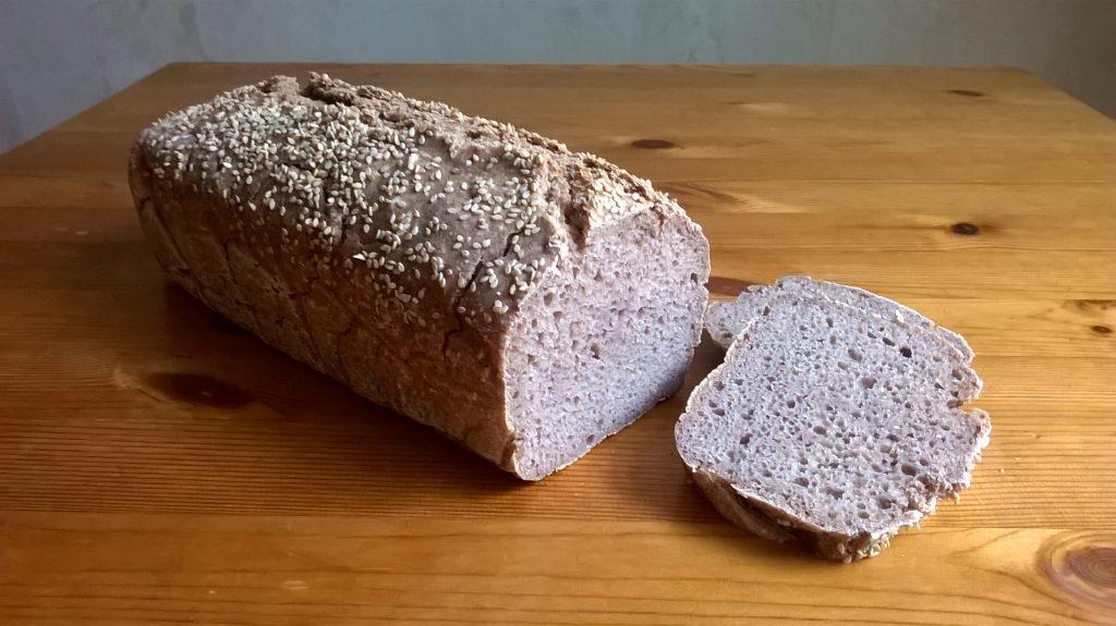 pan sin gluten de mijo y sorgo