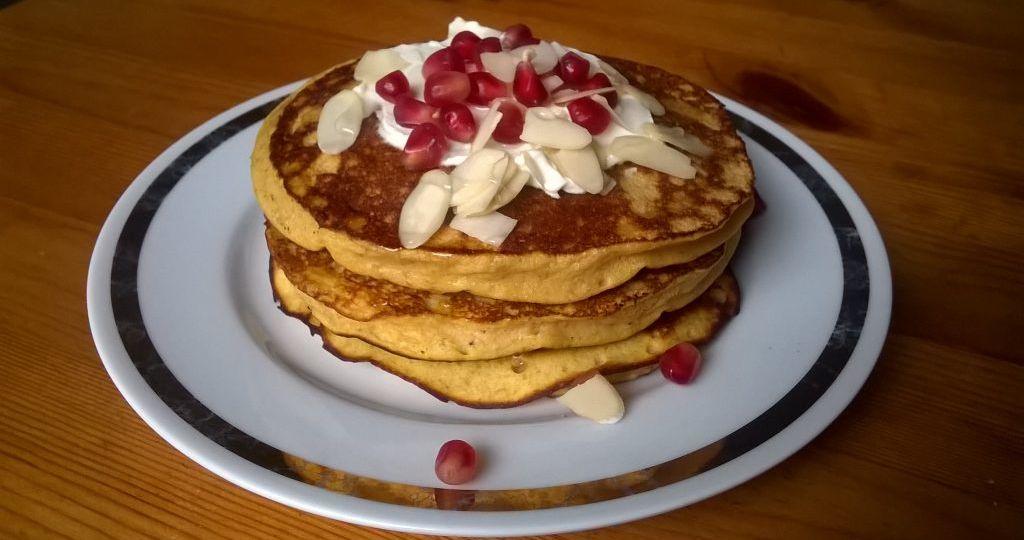 Pancakes platano macho