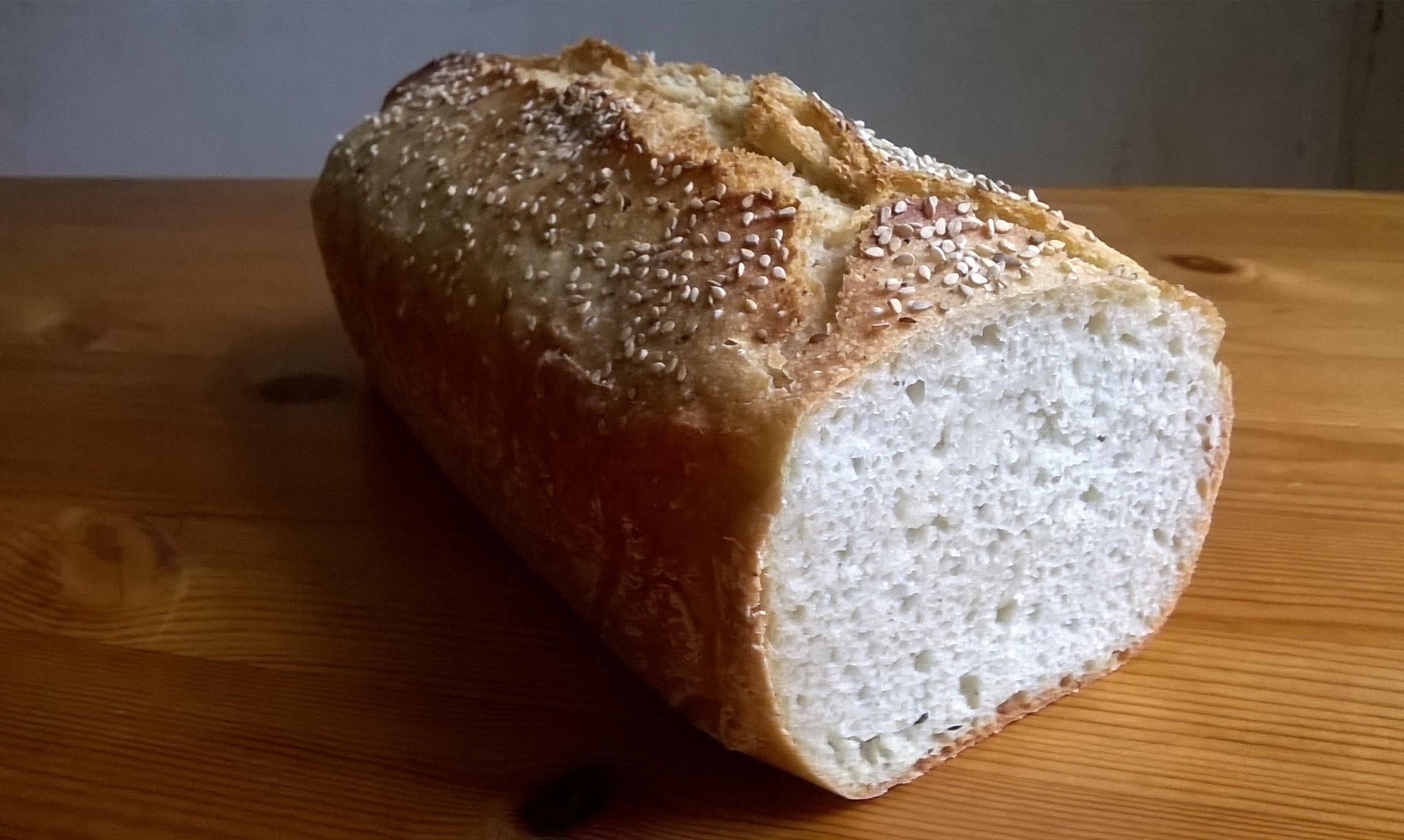 Pan sin gluten con yuca