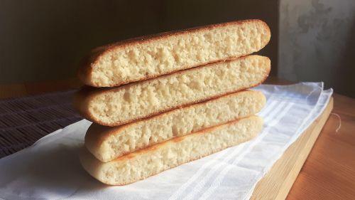 Pan de arroz en sartén