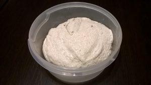 Chapata sin gluten probeta 1