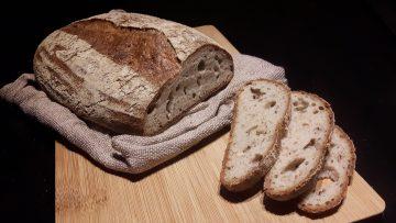 Pan de hogaza artesano sin gluten
