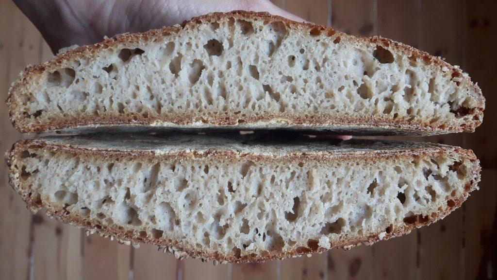Test 3.0. Pan sin gluten con fermento de manzana