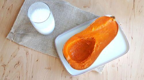 Porridge de calabaza asada