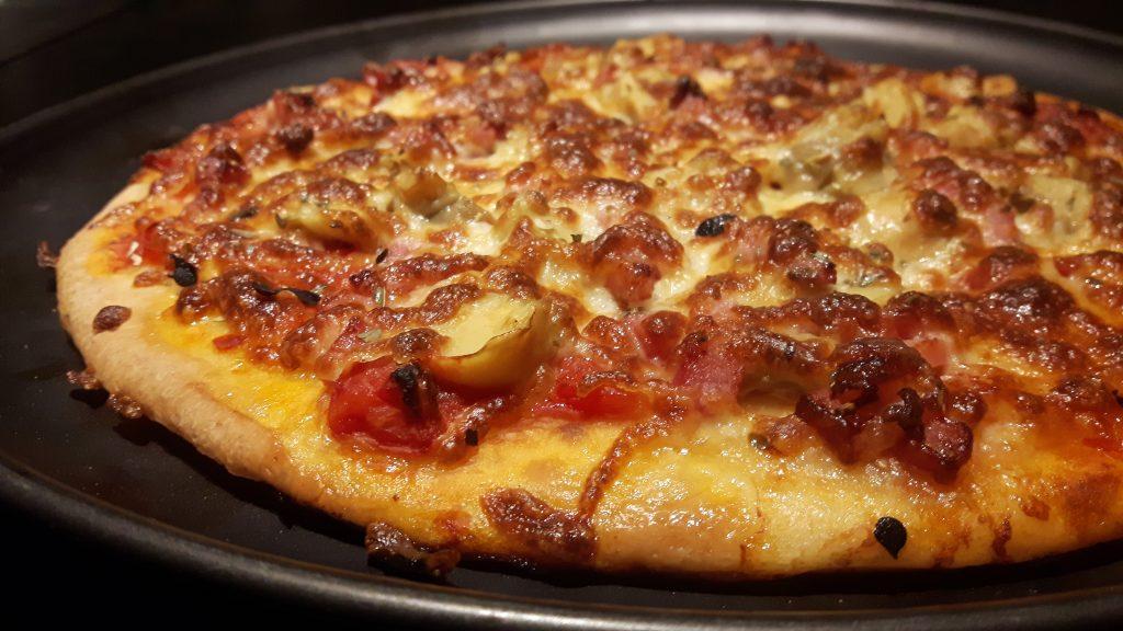 Pizza sin gluten sencilla