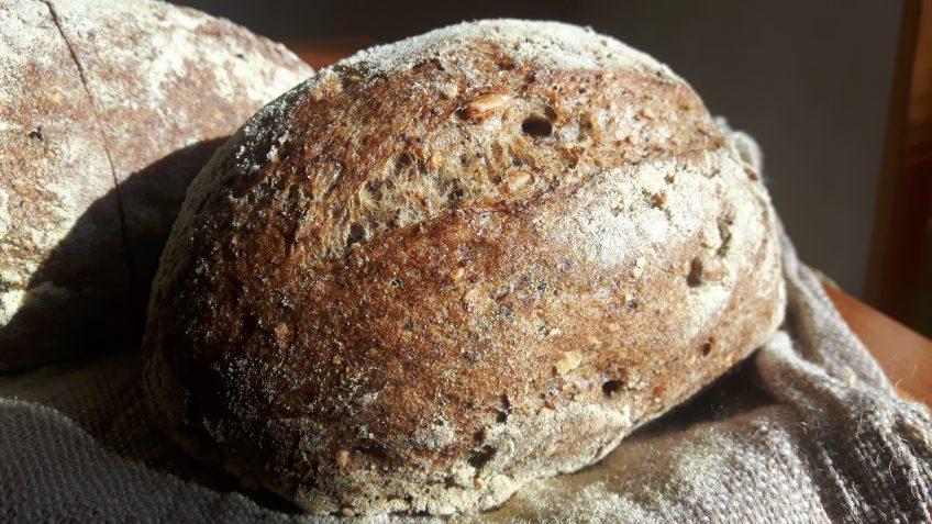 Pan multicereales sin gluten