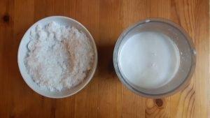 Leche y harina de coco caseras