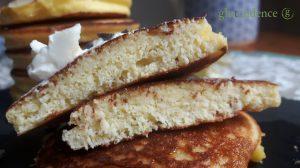 Pancakes sin gluten con harina de coco