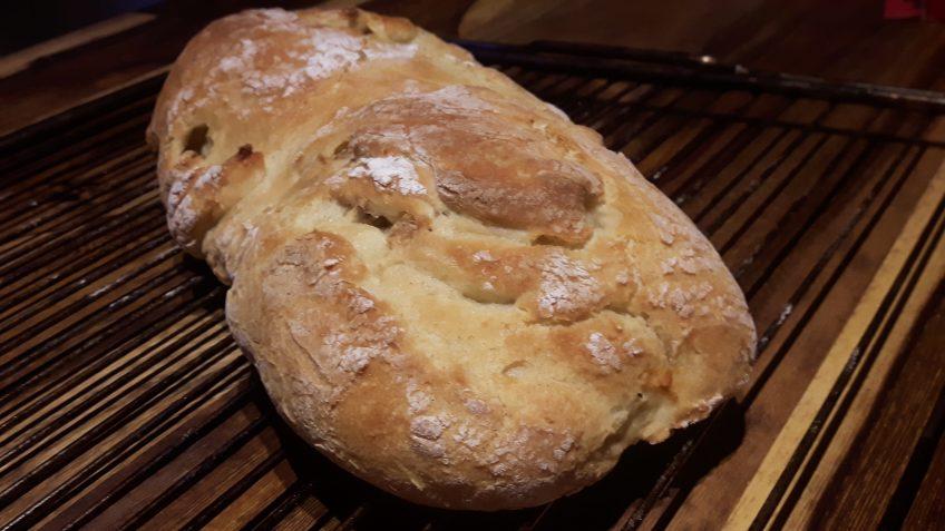 Pan brioche sin gluten con pasas y nueces