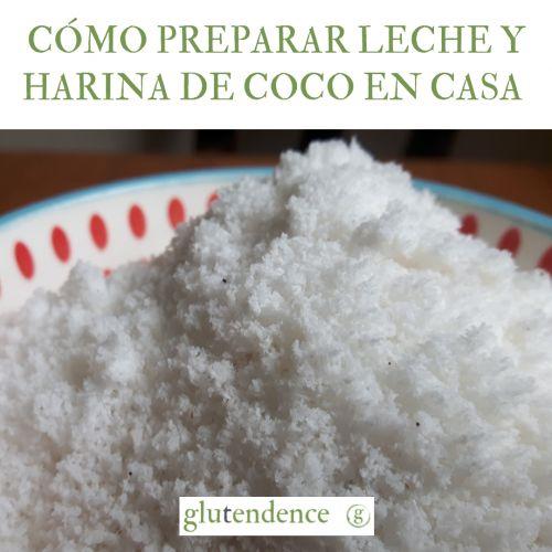 Cómo preparar harina de coco