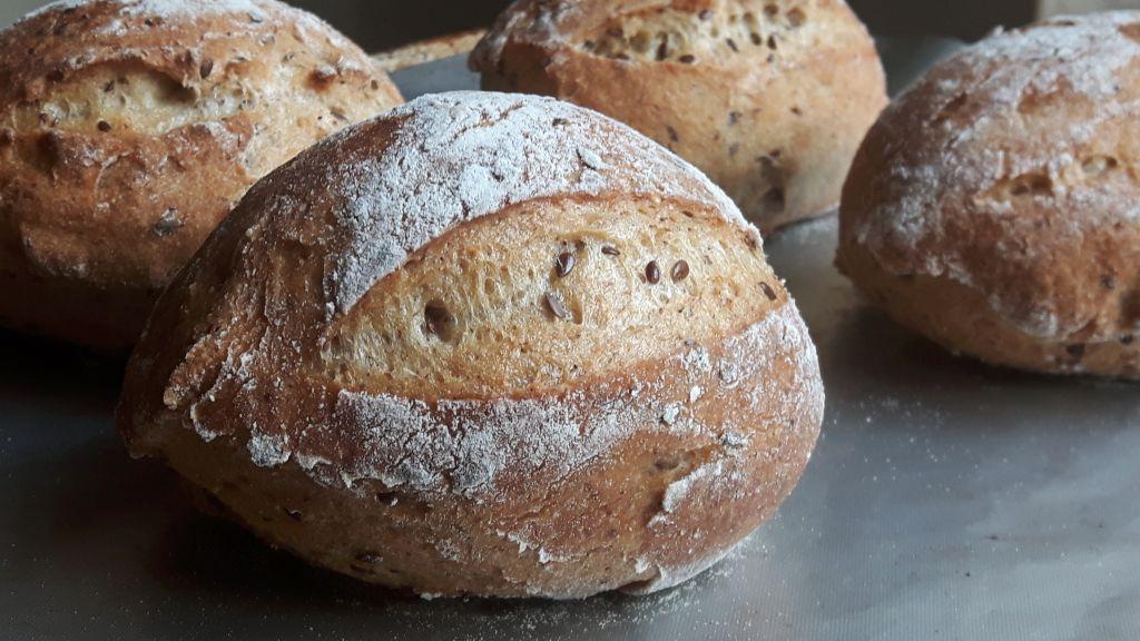 Pan sin gluten de masa madre fácil