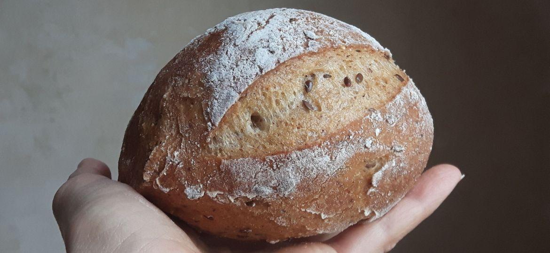 Cómo hacer pan de masa madre sin gluten