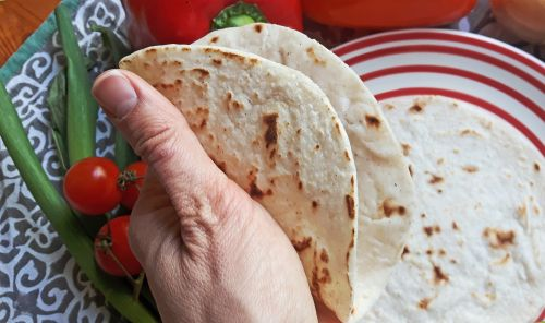 Tortillas sin gluten con masa madre