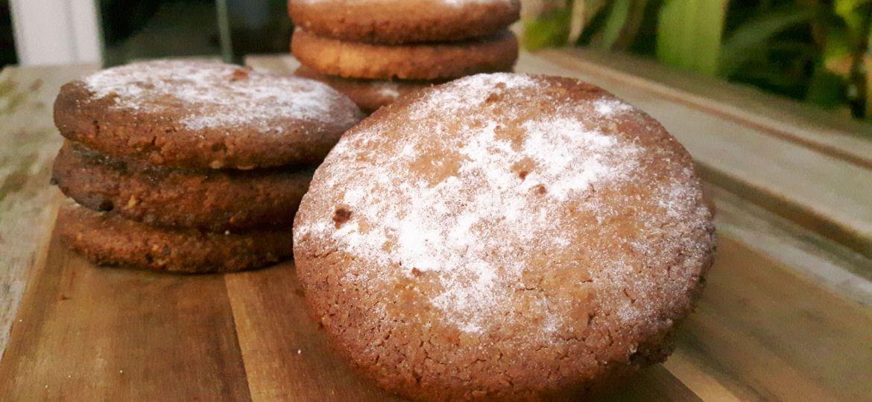 Galletas de avena crujientes sin gluten