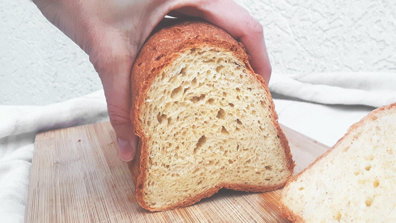 Pan brioche sin gluten para sandwich