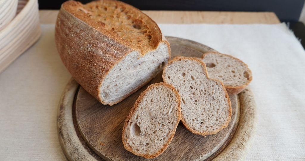 Pan sin gluten de trigo sarraceno y quinoa