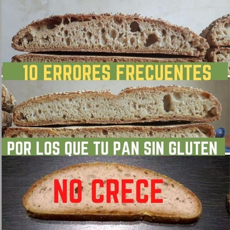 10 errores frecuentes pan sin gluten