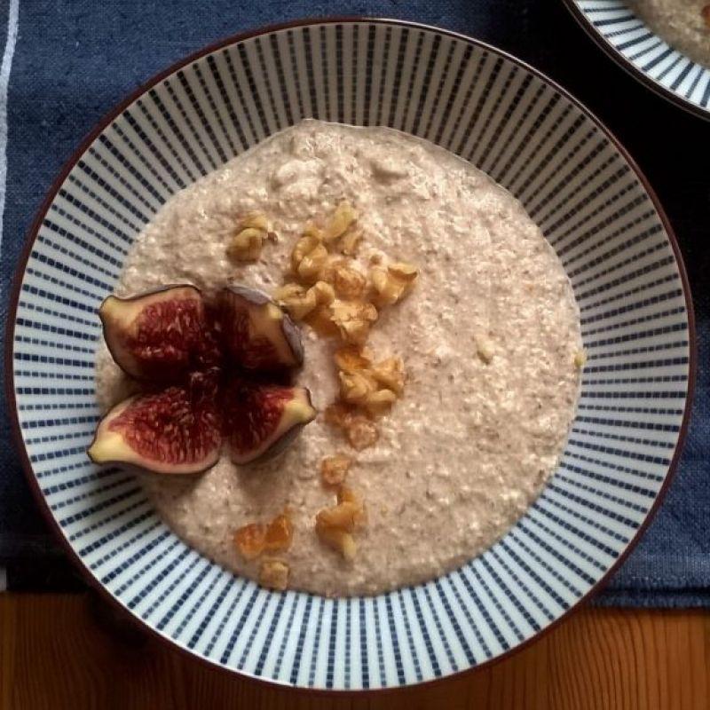 Porridge de alforfón con nueces e higos (2)