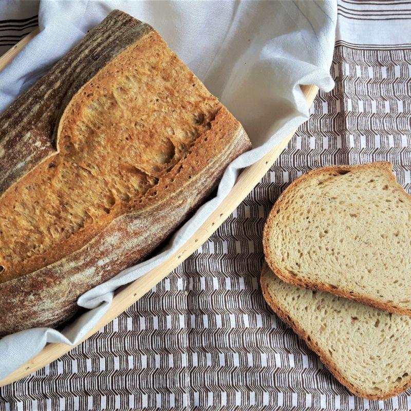 Pan artesano sin gluten