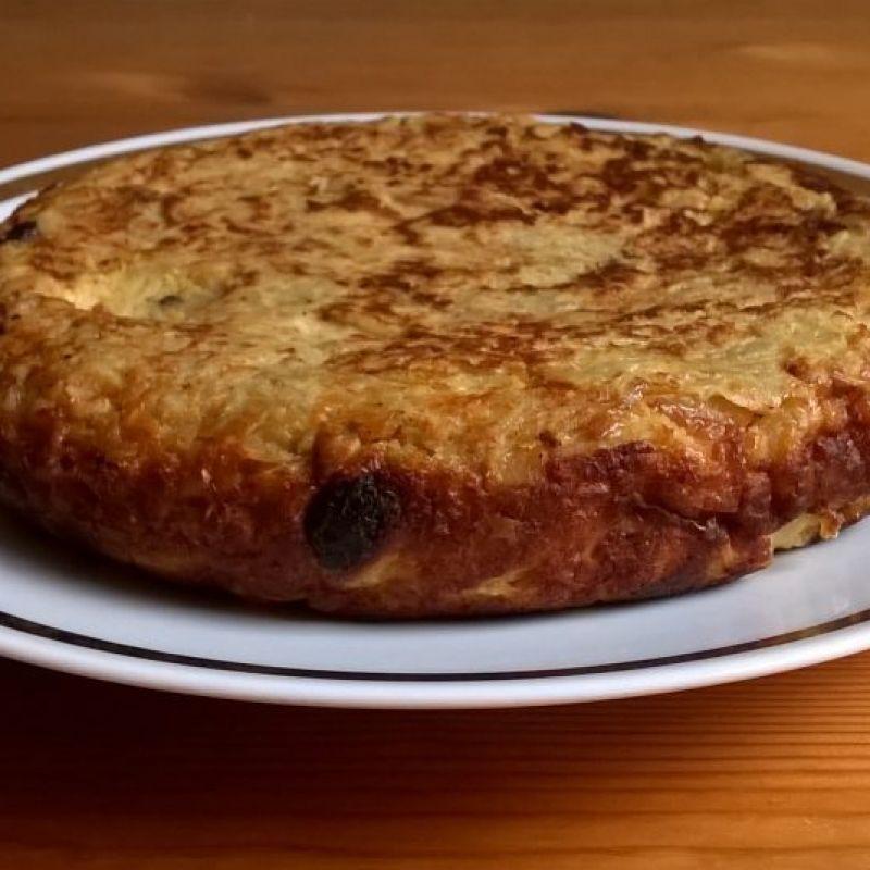 tortilla dulce de batata boniato 2