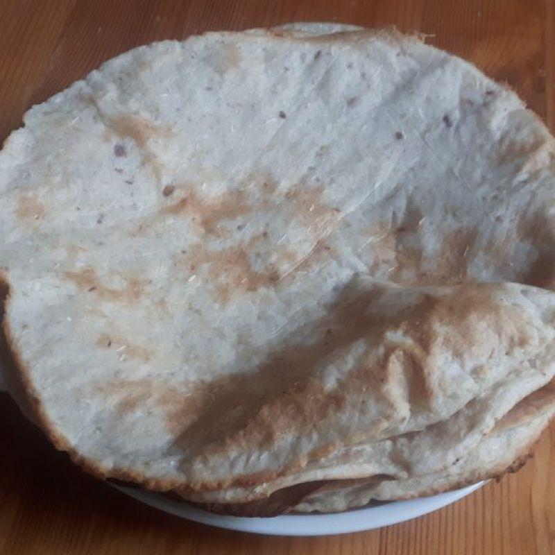 Tortillas sin gluten de mandioca